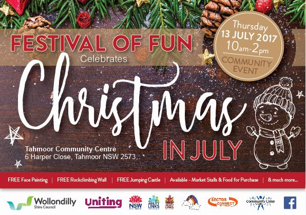 Festival of Fun - Christmas in July